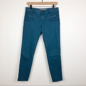 Anthro Daughters of the Liberation Moto Jeans